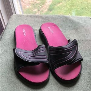 Speedo Brand Adjustable Slide Sandals